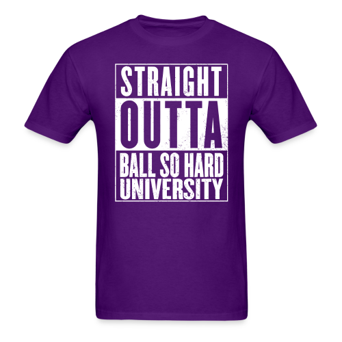 Straight Outta BSHU - Men's T-Shirt