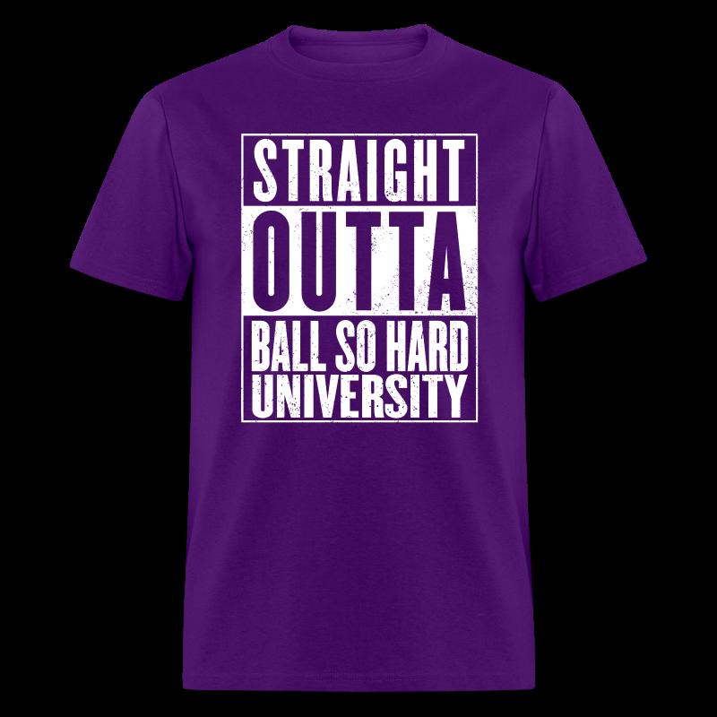 Straight Outta BSHU - Men's T-Shirt