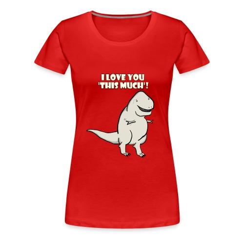 Rex Love - Red - Women's Premium T-Shirt