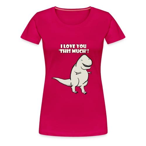 Rex Love - Pink - Women's Premium T-Shirt