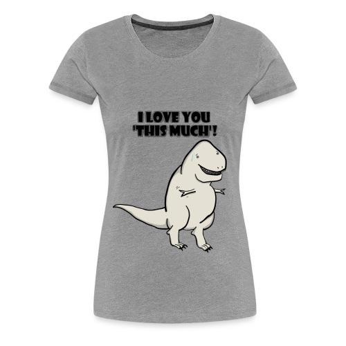 Rex Love - Grey - Women's Premium T-Shirt