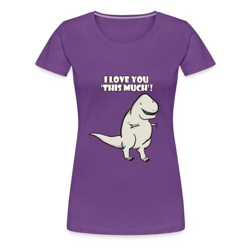 Rex Love - Purple - Women's Premium T-Shirt