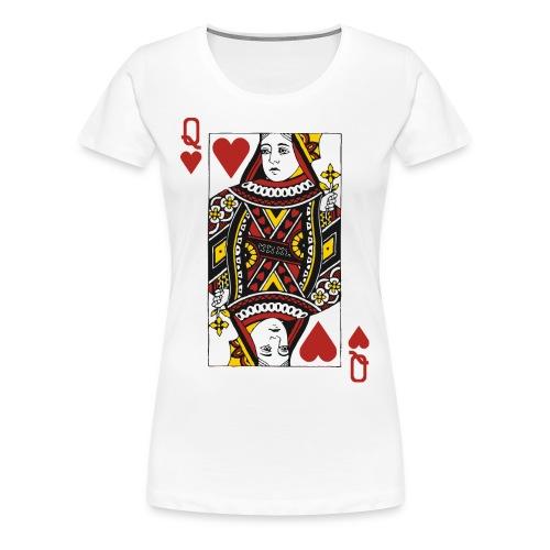 Queen of Hearts - Women's Premium T-Shirt