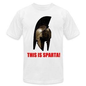 This Is Sparta! Men's T-Shirt - Men's Fine Jersey T-Shirt