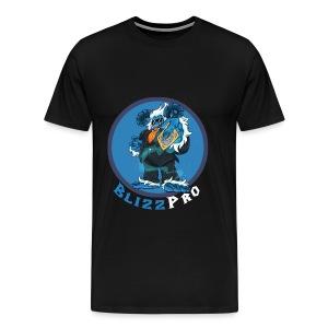 BlizzPro Mascot Yeti Alt 1 Black - Men's Premium T-Shirt