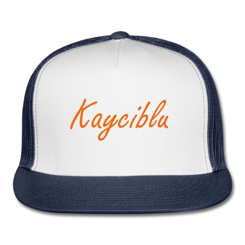 Kayciblu Singnature Snapback Cap For All Ages - Trucker Cap