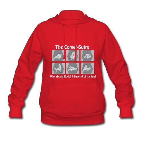 A naughty Christmas hoodie! - Women's Hoodie