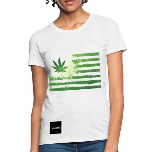 Marijuana Flag Women's Tee - Women's T-Shirt