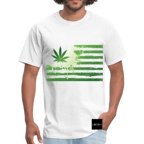 Marijuana Flag Men's Tee - Men's T-Shirt