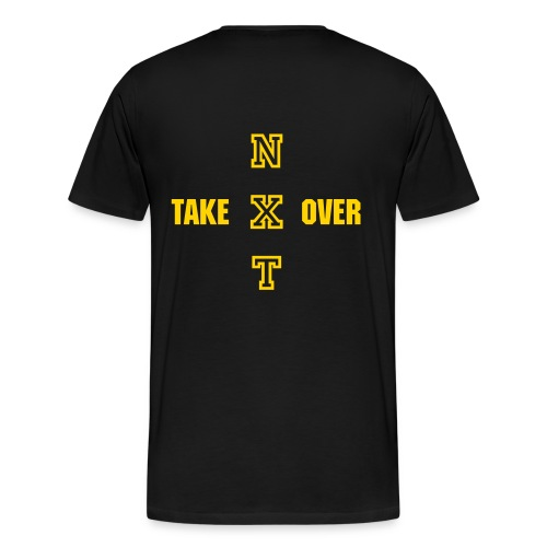 nxt take over 2 ON BACK - Men's Premium T-Shirt