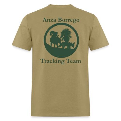 Anza Borrego Tracking Team Shirt - Beige - Men's T-Shirt