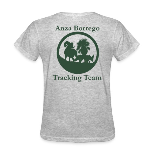 Anza Borrego Tracking Team Shirt - Gray - Women's T-Shirt
