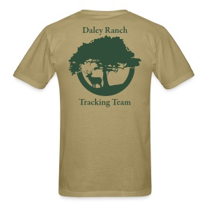 Daley Ranch Tracking Team Shirt - Beige - Men's T-Shirt