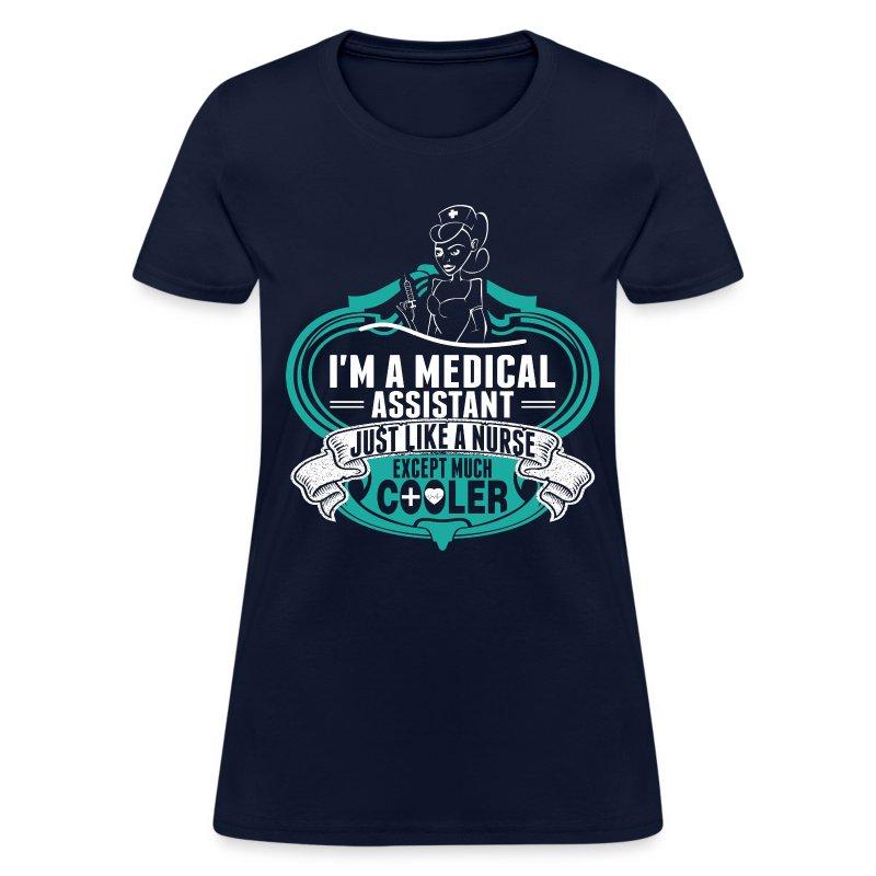 I am a medical assistant just like a nurse t shirt for I am a nurse t shirt