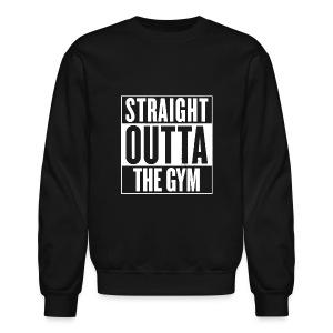 Straight Outta The Gym | Mens Jumper - Crewneck Sweatshirt