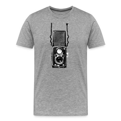 Rolleiflex Twin Lens Vintage Film Camera - Men's Premium T-Shirt