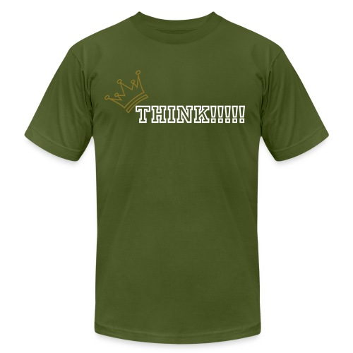Think tee - Men's Fine Jersey T-Shirt