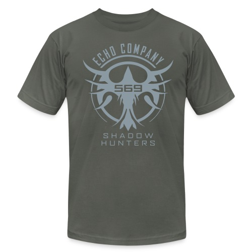 EC569 Basic - Men's Shirt (Slim/Asphalt) - Men's Fine Jersey T-Shirt