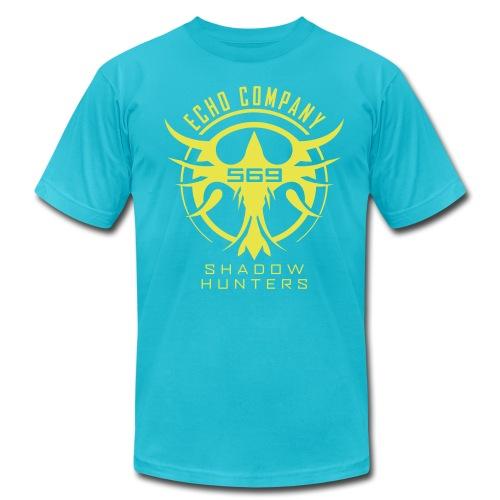 EC569 Basic - Men's Shirt (Slim/Teal) - Men's Fine Jersey T-Shirt