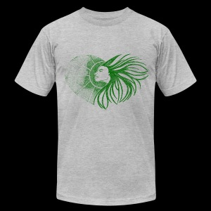 Sunshine- Green Man shirt - Men's Fine Jersey T-Shirt