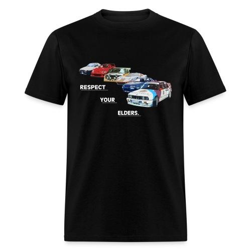 RESPECT YOUR ELDERS 2 - Men's T-Shirt