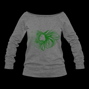 Sunshine- Green - Women's Wideneck Sweatshirt
