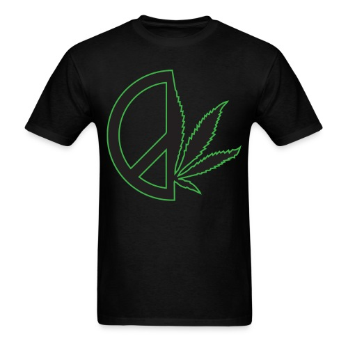 Limited Edition Men's Peace Weed Tee - Men's T-Shirt