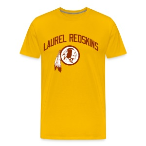 Laurel Redskins - Men's Premium T-Shirt