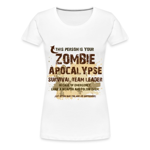 Survival Team Leader (Ladies) - Women's Premium T-Shirt