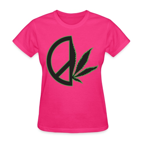 Limited Edition Women's Peace Weed Tee - Women's T-Shirt