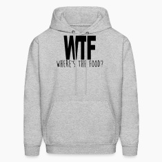 WTF - WHERE IS THE FOOD? Hoodies