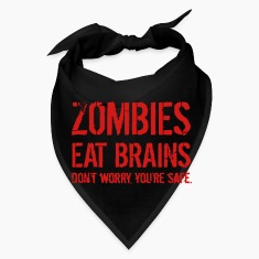 ZOMBIE EAT BRAINS Caps