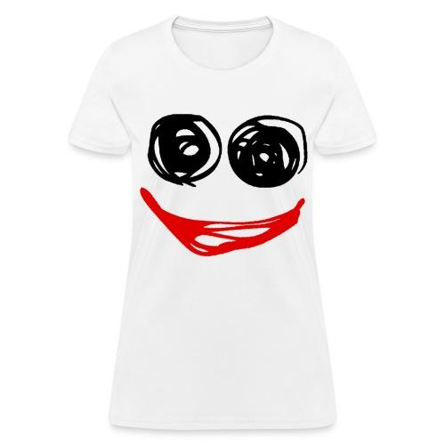 Doodle Face - Women's T-Shirt