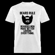 T-Shirts ~ Men's T-Shirt ~ Beard Rule #51