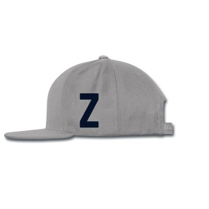 Z Cap | Black on Gray - Snap-back Baseball Cap