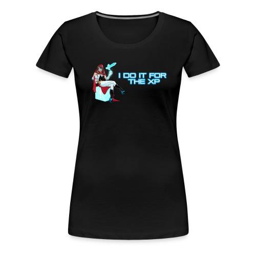 I Do It For The XP - Women's Basic Tee - Women's Premium T-Shirt