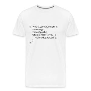 jCoffee Shirt - Men's Premium T-Shirt