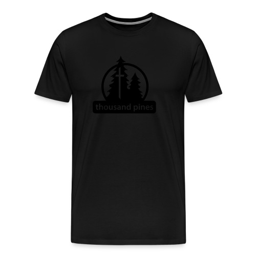 Black/Black Stealth Tee - Men's Premium T-Shirt