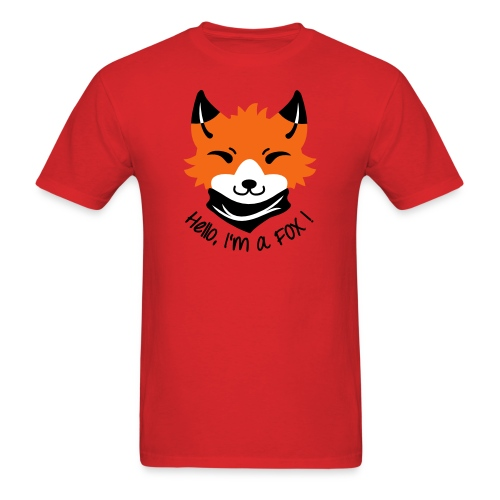 Fox! - Men's T-Shirt
