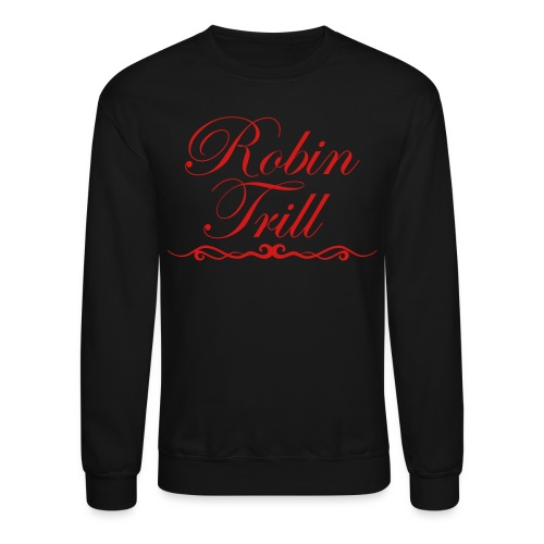 Robin Trill Sweater Red  - Crewneck Sweatshirt