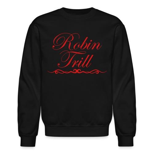 Robin Trill Sweater Red  - Crewneck Sweatshirt