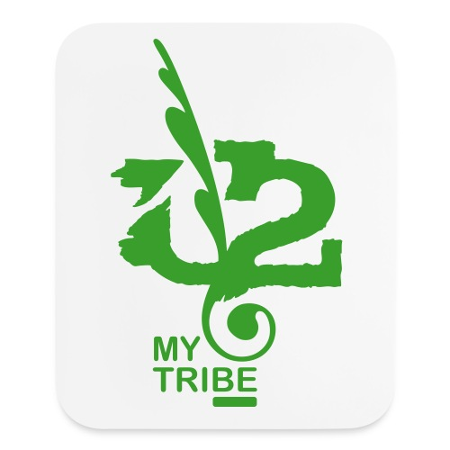 U+2=MY TRIBE  - one size - Mouse pad Vertical