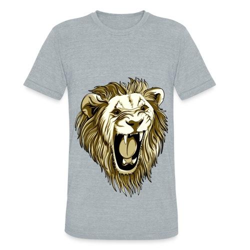 power of Lion - Unisex Tri-Blend T-Shirt