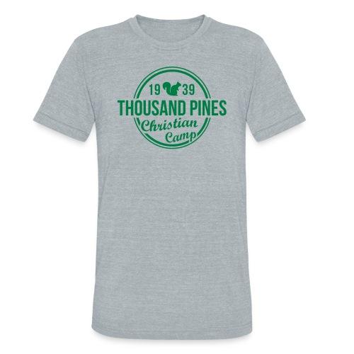 Go Green Circle Tee - Unisex Tri-Blend T-Shirt