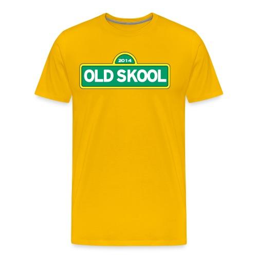 Yo Old Skool - Men's Premium T-Shirt