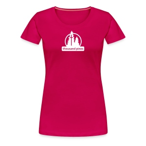 Ladies Logo Pink Tee - Women's Premium T-Shirt