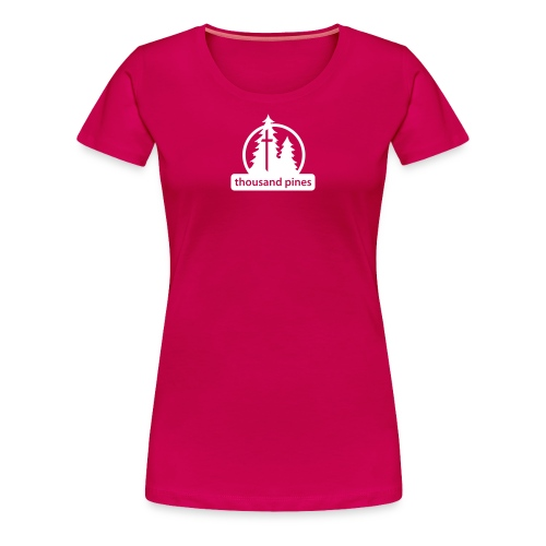 Ladies Logo Pink Tee - Women's Premium T-Shirt