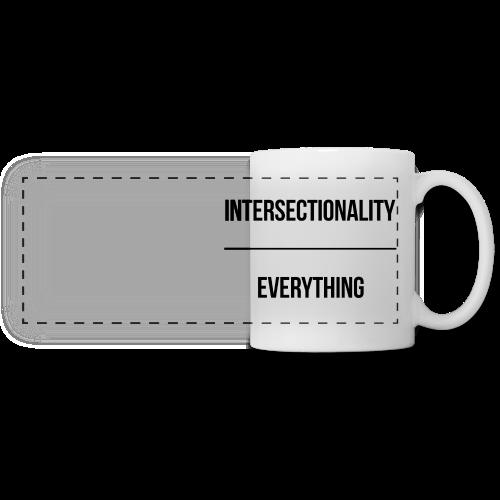 Intersectionality Over Everything - Panoramic Mug