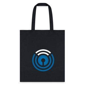 Black Logo Tote - Tote Bag