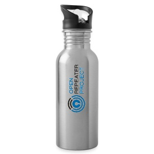 Silver Logo Water Container - Water Bottle